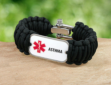 Wide Survival Bracelet™ - Medical Alert