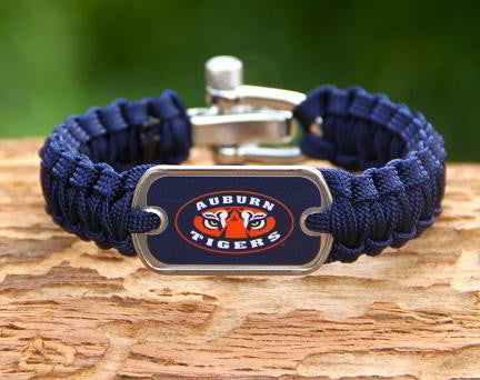 Light Duty Survival Bracelet™ - Officially Licensed - Auburn Tigers® V2