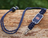 Neck ID Lanyard - Officially Licensed - Auburn Tigers® V2