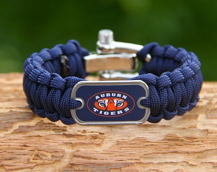 Regular Survival Bracelet™ - Officially Licensed - Auburn Tigers® V2