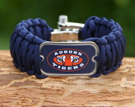 Wide Survival Bracelet™ - Officially Licensed - Auburn Tigers® V2
