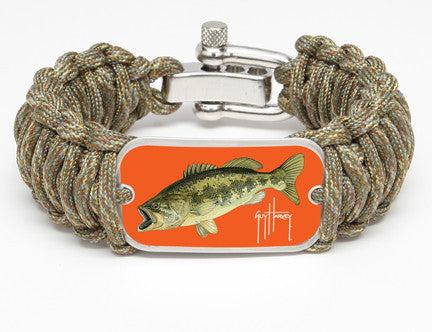 WIDE Survival Bracelet™-Guy Harvey-Largemouth Bass