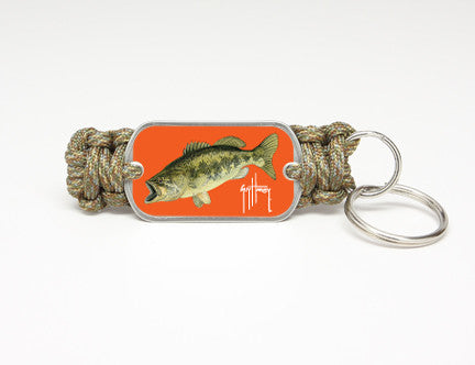 Key Fob-Guy Harvey-Largemouth Bass