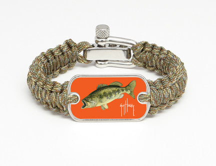Light Duty Survival Bracelet™-Guy Harvey-Largemouth Bass