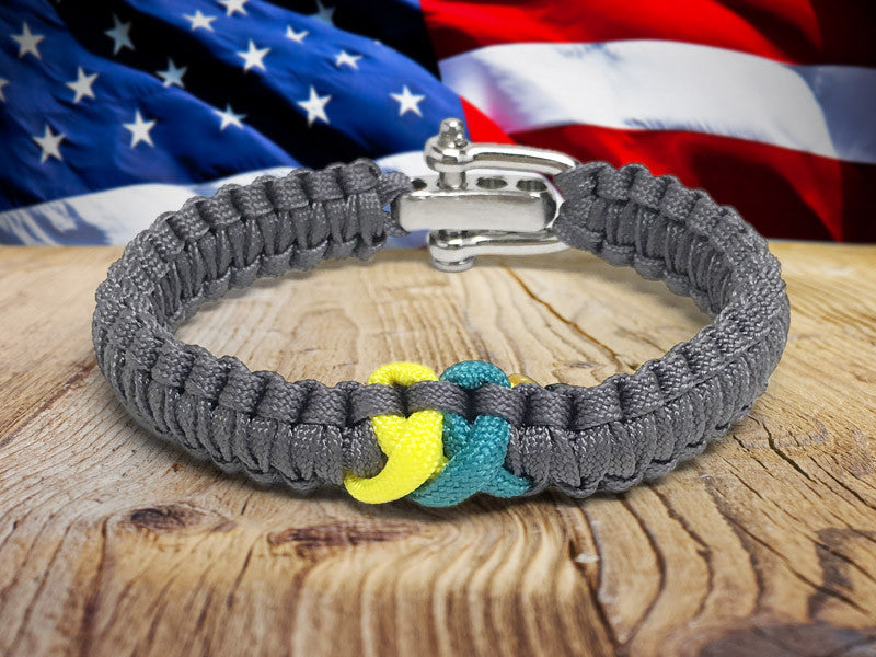 Light Duty Survival Bracelet™ - Run Across America