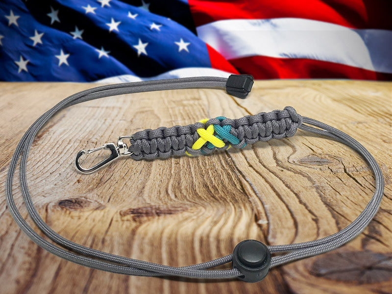 Neck ID Lanyard - Run Across America