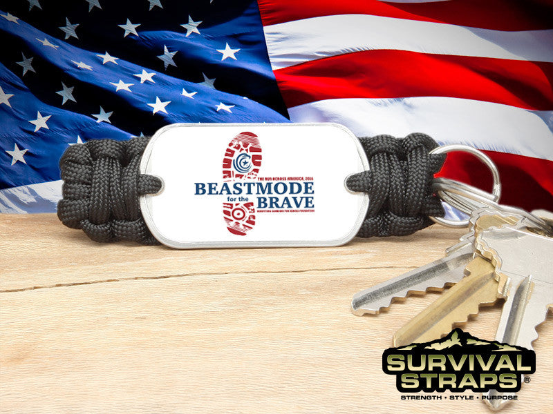 Key Fob - BeastMode for the Brave (Black)