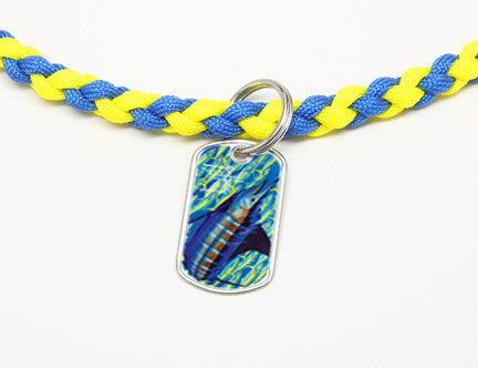 Necklace-Guy Harvey-Blue Runner