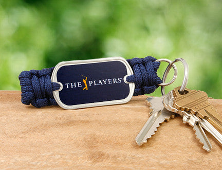 Key Fob - Officially Licensed - The Players® (Navy Tag)