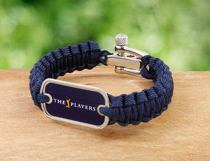 Light Duty Survival Bracelet™ - Officially Licensed - The Players® (Navy Tag)