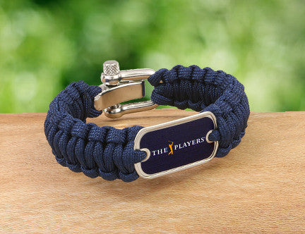 Regular Survival Bracelet™ - Officially Licensed - The Players® - (Navy Tag)