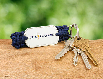 Key Fob - Officially Licensed - The Players® (White Tag)