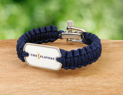 Light Duty Survival Bracelet™ - Officially Licensed - The Players® (White Tag)