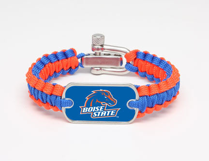 Light Duty Survival Bracelet™ - Officially Licensed - Boise State™ Broncos™
