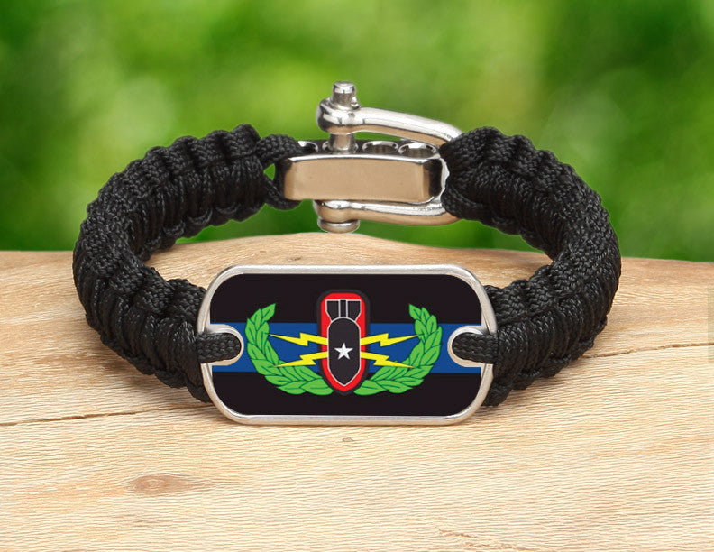 Light Duty Survival Bracelet™ - Police BOMB/EOD Team