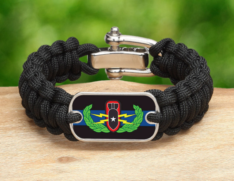 Regular Survival Bracelet™ - Police BOMB/EOD Team
