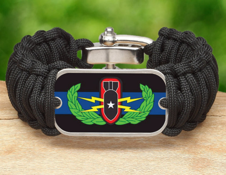 Wide Survival Bracelet™ - Police BOMB/EOD Team