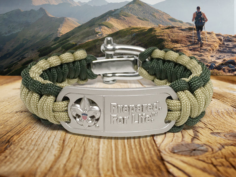 Regular Survival Bracelet - Boy Scouts of America