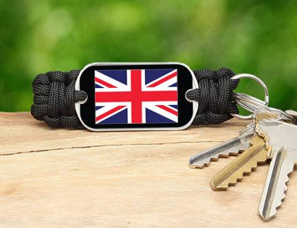Key Fob - British Flag