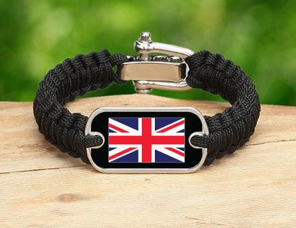 Light Duty Survival Bracelet™ - British Flag