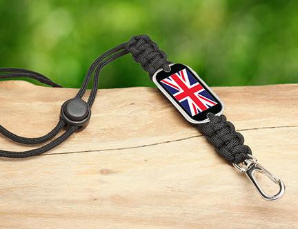 Neck ID Lanyard - British Flag