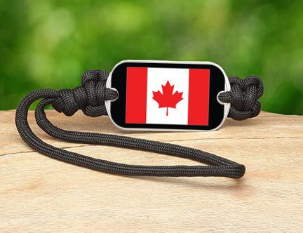 Gear Tag - Canadian Flag