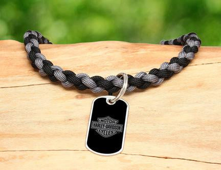 Necklace - Harley-Davidson® - Black and Charcoal