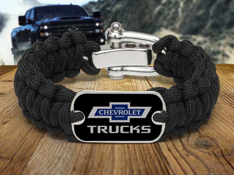 Truck 100 Survival Bracelet - Dog Tag