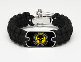 Regular Survival Bracelet - Chris Kyle Memorial - Black