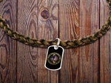 Fallen Heroes Memorial Run Necklace - Battlefield Cross