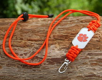 Neck ID Lanyard - Officially Licensed - Clemson Tigers® V2