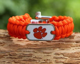 Regular Survival Bracelet™ - Officially Licensed - Clemson Tigers® V2
