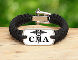 Light Duty Survival Bracelet™ - Certified Medical Assistant Tag