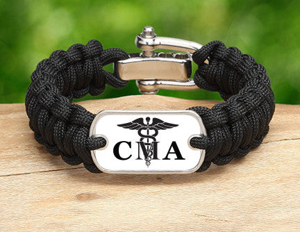 Regular Survival Bracelet™ - Certified Medical Assistant Tag