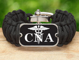 Wide Survival Bracelet™ - Certified Nursing Assistant Tag