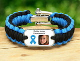 Regular Survival Bracelet - Picture Ribbons - T