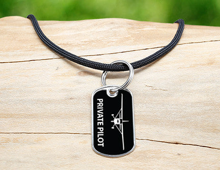 Neck Cord - Private Pilot Tag