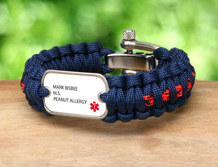Regular Survival Bracelet™ - Custom Medical Alert