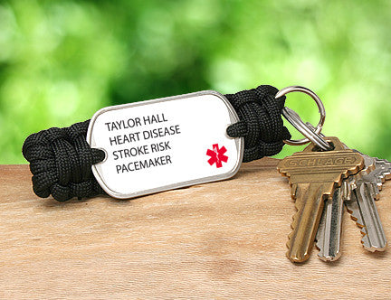 Key Fob - Custom Medical Alert