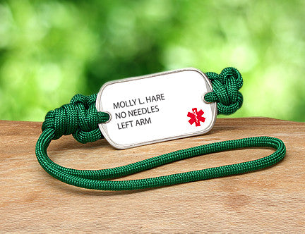 Gear Tag - Custom Medical Alert
