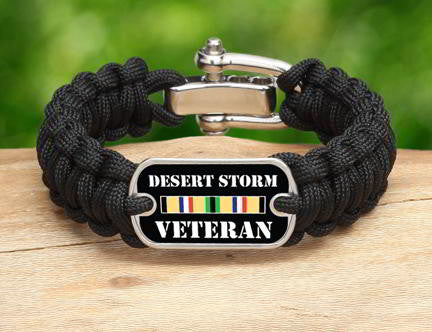 Regular Survival Bracelet™- Desert Storm Veteran