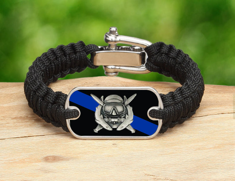 Light Duty Survival Bracelet™ - Police Diver