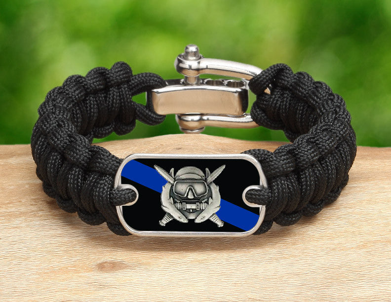 Regular Survival Bracelet™ - Police Diver