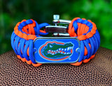 Wide Survival Bracelet™ - Officially Licensed - Florida Gators®