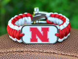 Regular Survival Bracelet - Officially Licensed - Nebraska® Huskers®