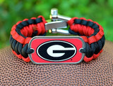 Regular Survival Bracelet™ - Officially Licensed - Georgia® Bulldogs®