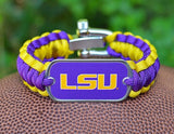 Regular Survival Bracelet™ - Officially Licensed - LSU Tigers™
