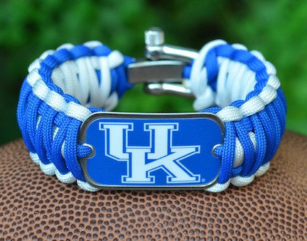 Wide Survival Bracelet™ - Officially Licensed - Kentucky Wildcats®