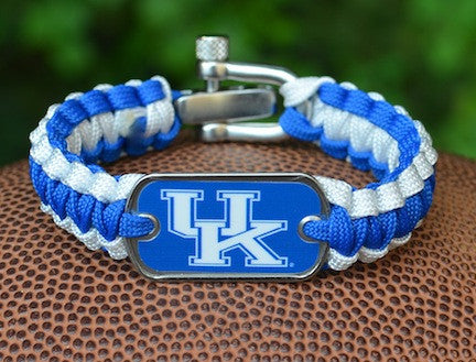 Light Duty Survival Bracelet™ - Officially Licensed - Kentucky Wildcats®