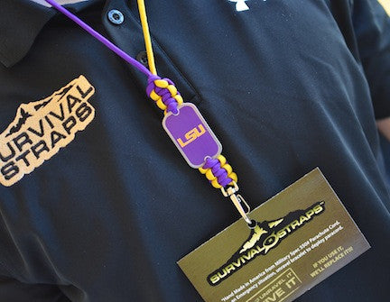 Neck ID Lanyard - Officially Licensed - LSU Tigers™